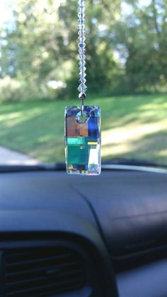 Swarovski Suncatcher Sun Car Charm Crystal Car Charm Mirror