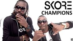"SKORE Champion Song - Dwayne ""DJ"" Bravo ft. Chris Gayle - Champion Song ..."