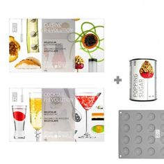 Cuisine and Cocktail R-Evolution Pack by MOLECULE-R FLAVORS INC. $116.99. Length: 13.00-in.. Width: 7.00-in.. Height: 8-in.. Cuisine and Cocktail R-Evolution Pack. This special web package includes both the Cuisine & Cocktail R-EVOLUTION kits plus 2 free gifts: a silicone mold and a can of popping sugar! Create a meal and a cocktail! The Cuisine kit brings your culinary creativity to the next level and will impress your guests with spectacular dishes such as mint caviar ...