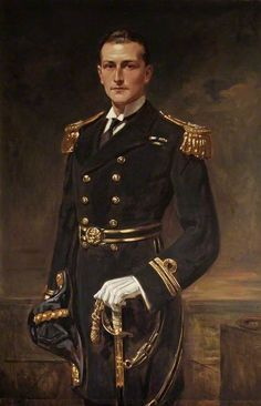 """Lieutenant Edward Newdigate Boulton RN"" by Leon Sprinck Russell-Cotes Museum and Art Gallery Military Art, Military Fashion, Character Inspiration, Character Art, Urbane Kunst, Navy Uniforms, Outfits Hombre, Uniform Design, Men In Uniform"