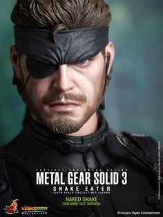 Hot Toys – Metal Gear Solid 3 Videogame Masterpiece 1/6 Naked Snake (Sneaki  Sideshow Collectibles and Hot Toys are proud to present the Naked Snake (Sneaking Suit Version) Sixth Scale Figure from the Metal Gear Solid 3: Snake Eater video game. The collectible is specially crafted based on the image of Naked Snake in Sneaking Suit Version in the video game, highlighting the newly developed head sculpt, highly detailed costume, accessories and weapons.   The Naked Snake Sixth Scale Fi..