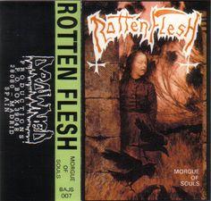 Rotten Flesh - Morgue Of Souls (Cassette) at Discogs