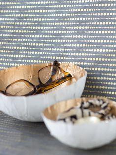 DIY: papier mâché bowls