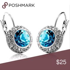 Sterling Silver Plated Earrings New Brand New! Coming Soon zdazzled Jewelry Earrings