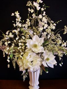 Winter Wonderland Affordable Ambiance  beautiful Floral Alter arrangement's