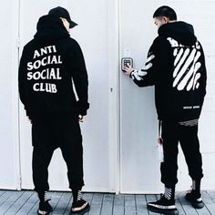 Cop it while it's hot! These Anti Social Social Club Hoodies are dope AF you'll want never want to take them off. This hoodie features a comfy polyester, cotton construction, a drawstring hood, and te