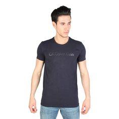 Calvin Klein KMP45B Men's T-Shirt, Navy Blue