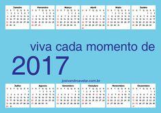 CALENDÁRIO 2017 VIVA CADA MOMENTO 3