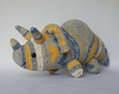 Triceratops Plush Toy, Dinosaur plushie, Dino Toy, Stuffed Animal, Sock Monkey