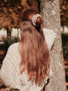 Scrunchies, Hair Styles, Beauty, Hair Plait Styles, Hair Makeup, Hairdos, Haircut Styles, Hair Cuts, Hairstyles