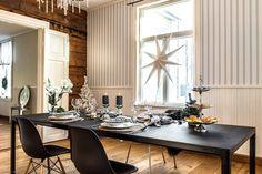 Myytävät asunnot, Upinniementie 818, Kirkkonummi #oikotieasunnot #ruokailutila Room, Table Settings, Dining, Table, Dining Room