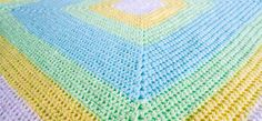 how to crochet a baby blanket