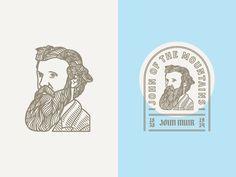 John Muir by Peter Voth