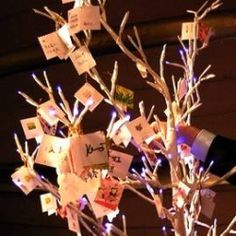 Wishing Trees, an ancient tradition finding it ways into contemporary celebrations, can be easily made by finding an available tree or using branches,...