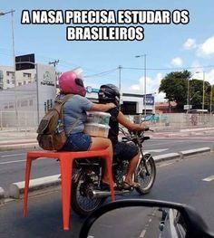 A NASA PRECISA MSM DE ESTUDAR OS BRASILEIROS HAHAHA