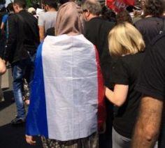 Manifestation de soutien à #Gaza : forte mobilisation malgré l'interdiction  #Paris #France #solidarité #Palestine #Israel #libertédexpression #résistance #politique #insoumission