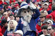 University of Mississippi - Ole Miss Rebels mascot Colonel Reb.