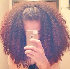 Big Curly Hair - http://www.blackhairinformation.com/community/hairstyle-gallery/natural-hairstyles/big-curly-hair/  #naturalhair #curlyhair