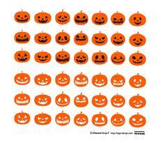ハロウィンカボチャ   商用フリーで使える影絵素材サイト シルエット ... : ハロウィンイラスト画像☆かぼちゃ、おばけ、魔女☆かわいいハロウィンのイラスト - NAVER まとめ