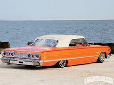 Fancy - 1963 Chevrolet Impala - Orange Legacy