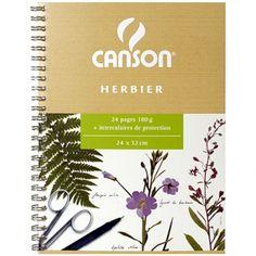 Canson Herbier à spirales