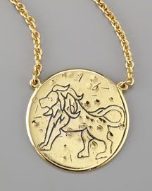 Not only does Amy Zerner contribute monthly horoscopes to our blog, 5th/58th, she makes the keenest astrology necklaces, too.  Also: if you see her in the store, be prepared for an impromptu tarot reading.