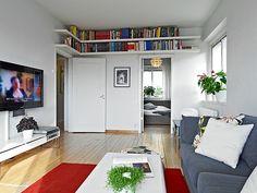 nordic, more book shelves!!!!