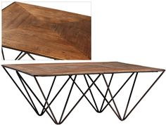 Dovetail Furniture - Langer Coffee Table - DOV5075