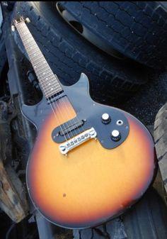 Vintage 1963 Gibson Melody Maker •Doublecut Big Neck, Duncan Pickups, Badass, HSC