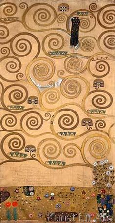 Gustav Klimt - G.Klimt / Stoclet frieze / Tree of Life