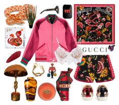 """""""""""Contest Entry"""""""" by didesi ❤ liked on Polyvore featuring Gucci, For Love & Lemons, Connor and gucci"""