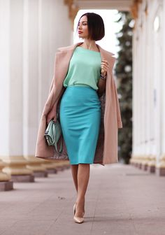 Mint, teal, beige... Perfect! Sonya Karamazova