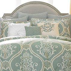 Sapphire Damask Comforter Set - jcpenney