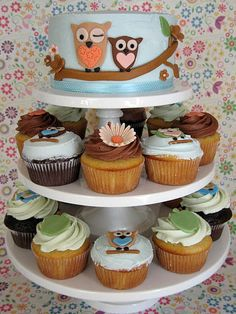 Owl Have One Of Those: 9 Whimsical Owl Themed Cakes