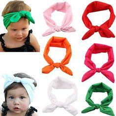 "Xife® 6 Piece Baby Girls 16"" Elastic Headband Boutique Hair Hoops XiFe http://www.amazon.com/dp/B00UTAZ78G/ref=cm_sw_r_pi_dp_J50cwb1498WE3"