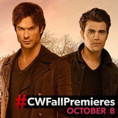 "26.4k Likes, 2,007 Comments - The Vampire Diaries (@thecwtvd) on Instagram: ""Season 7 of #TVD premieres October 8! #CWFallPremieres"""