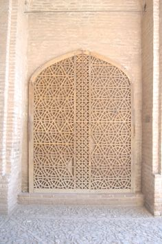 old door in iranian architecture