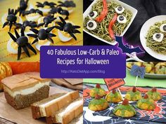 Not surprisingly, Halloween can be perceived as a threat to those trying to stick to a low-carb diet. However, the upcoming festive season doesn't have to put a halt to your low-carb eating. Below is a list of my top 40 low-carb & paleo meals for Halloween: 8 of them are my own + 32 are from my favourite recipe creators.    I've ...