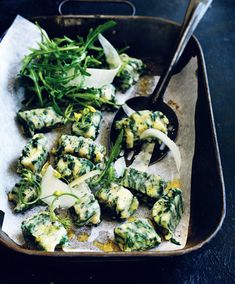 Simple Spinach and Ricotta Gnocchi