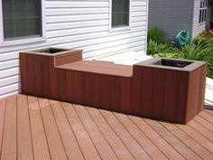 Deck Planters & Seat