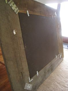 How to build a mirror from reclaimed wood.