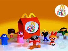 Juguetes de Mac Donalds Listas en 20minutos.es