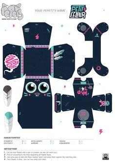 Le concours Pepetz a été un événement incontournable de la planète Paper Toy. Sans doute l'un des plus gros contest organisé, mais aussi l'un des plus qualitatif. Lancé début 2011 par Periscope, une agence de communication indépendante de Clermont-Ferrand, cetLire la suitePapertoys Pepetz – Batch V1 Cardboard Paper, Paper Toys, Uno Cards, Note Doodles, Paper Animals, Paper Crafts Origami, Diy Gift Box, Anime Dolls, Paper Models