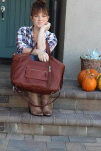 Style: Show Me Your Plaid - Must have @Lily Jade bag!