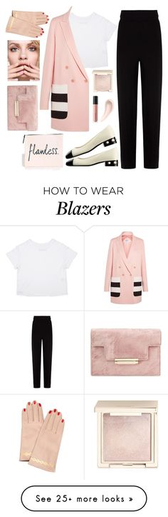 """""""Flawless"""" by bibi-b on Polyvore featuring Balenciaga, Chanel, MaxMara, Jouer, Bare Escentuals, Soap & Glory, GINTA and Undercover"""