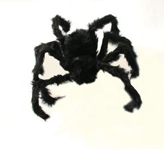75/50Cm Black/Colorful Spider Halloween Decor Haunted House Prop Party Supply