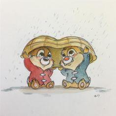 Funny Drawings, Cute Animal Drawings, Colorful Drawings, Disney Pixar, Disney Fun, Disney Animation, Easy Disney Drawings, Easy Drawings, Disney Drawing Tutorial