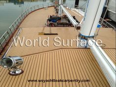 If you are looking for synthetic teak decking, you will find numerous renowned manufacturers and distributors providing you the best quality. You have to choose the right one and place your order for synthetic teak decking. Wooden Sailboat, Laying Decking, Decking Material, Deck Design, Fort Lauderdale, Step Guide, Carpentry, Teak