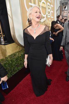 Helen Mirren  Golden Globe Awards 2016