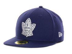 timeless design 4c30b b0a26 Toronto Maple Leafs NHL Basic 59FIFTY Cap Hats